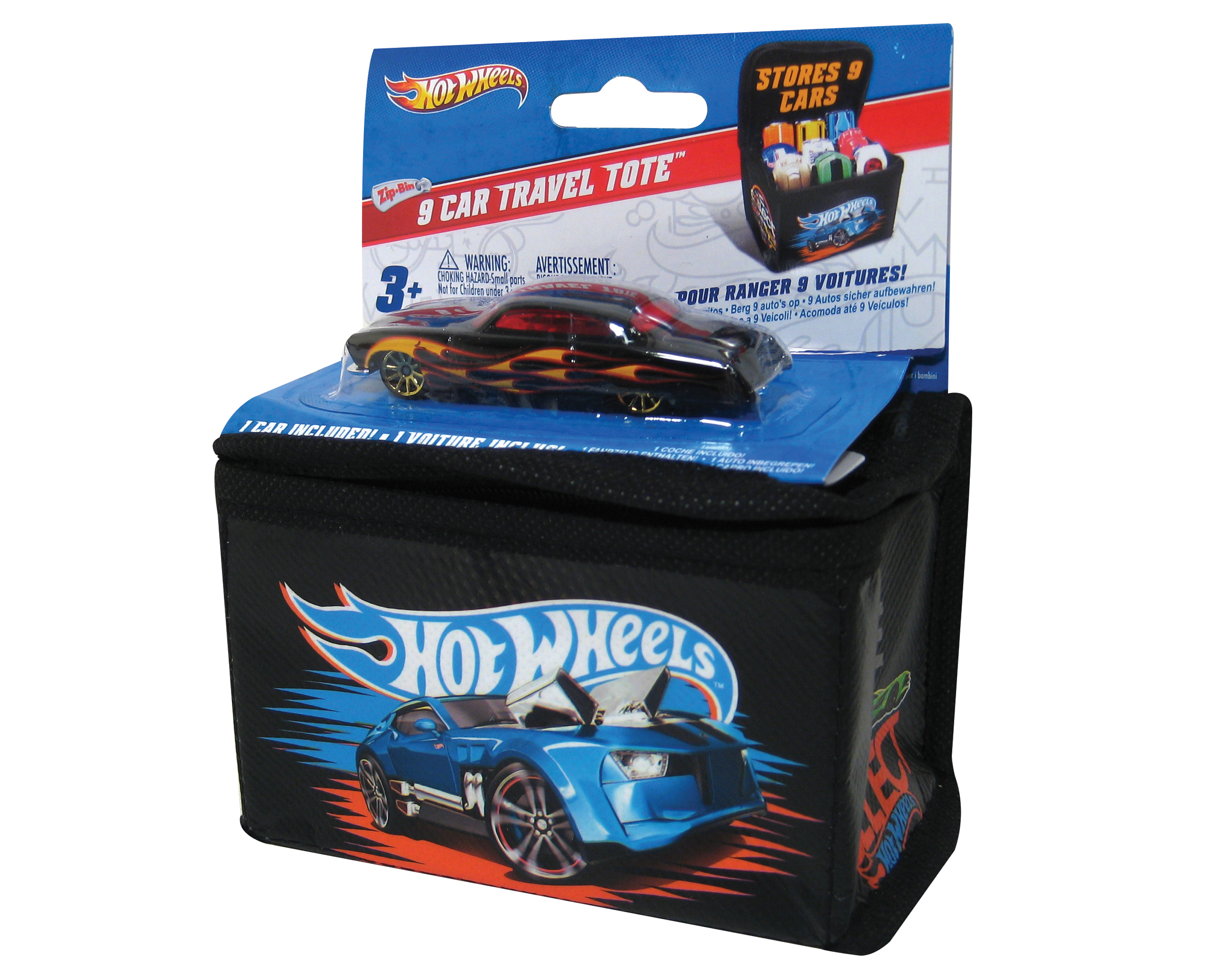 Hot wheels 9 car travel tote palava for 9 salon hot wheels 2016